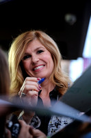 Connie Britton signs autographs at The Women of AHS event